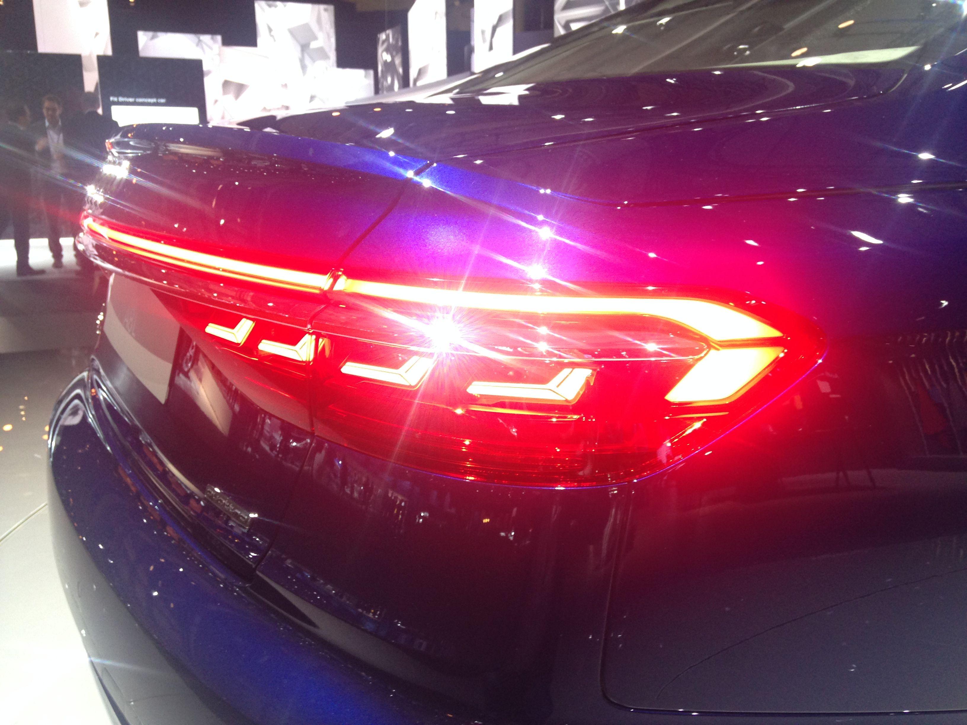 Audi A8 Oled Taillight Audi Autos Beleuchtung