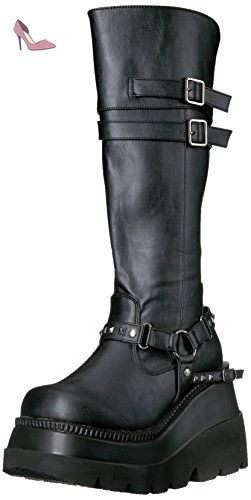 Shaker 101 - - BLK Vegan Leather, 41 EU - Chaussures demonia (*Partner-Link)