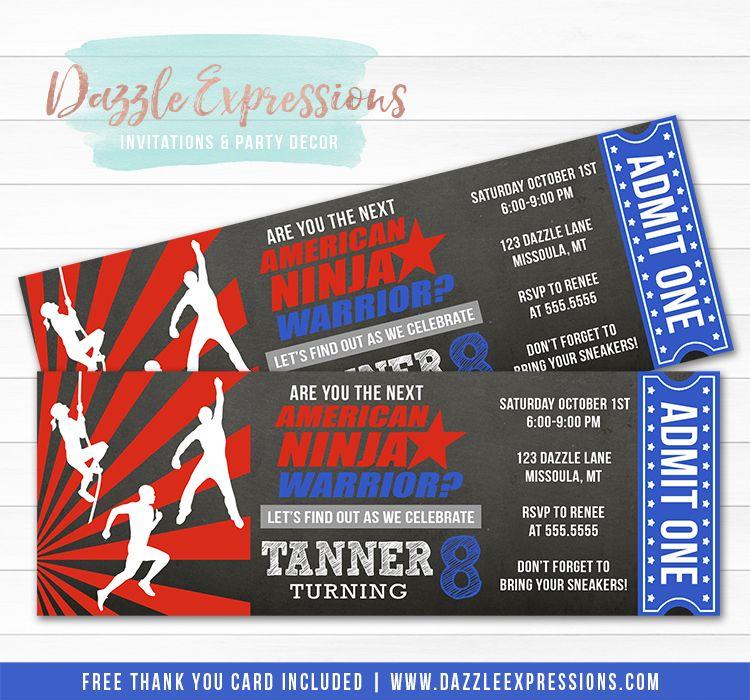Ninja Warrior Tickets