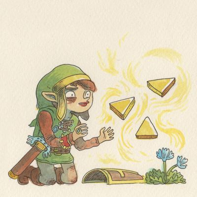 legend of zelda by campbell whyte