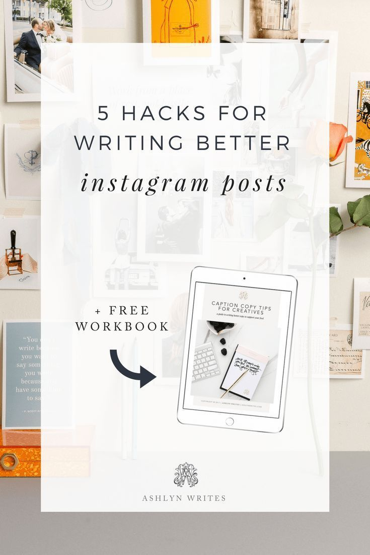 5 Hacks to Plan & Write Better Instagram Captions for Your