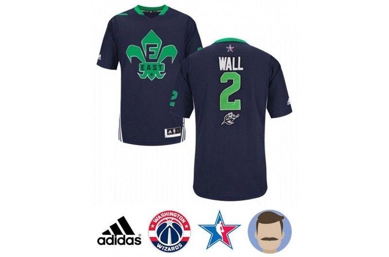 differently 7932f 45525 Men's John Wall #2 Blue All-Star Swingman Jersey | John Wall ...