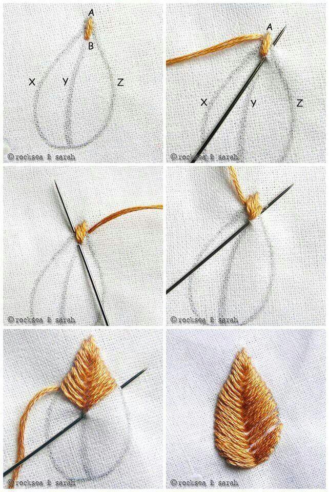 #embroiderystitchestutorials