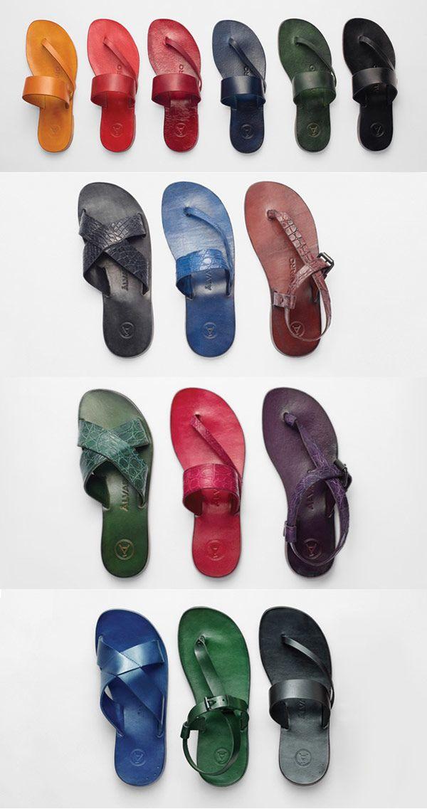 Álvaro González Sandals | Keep it Chic - Preston Davis- beautiful colors
