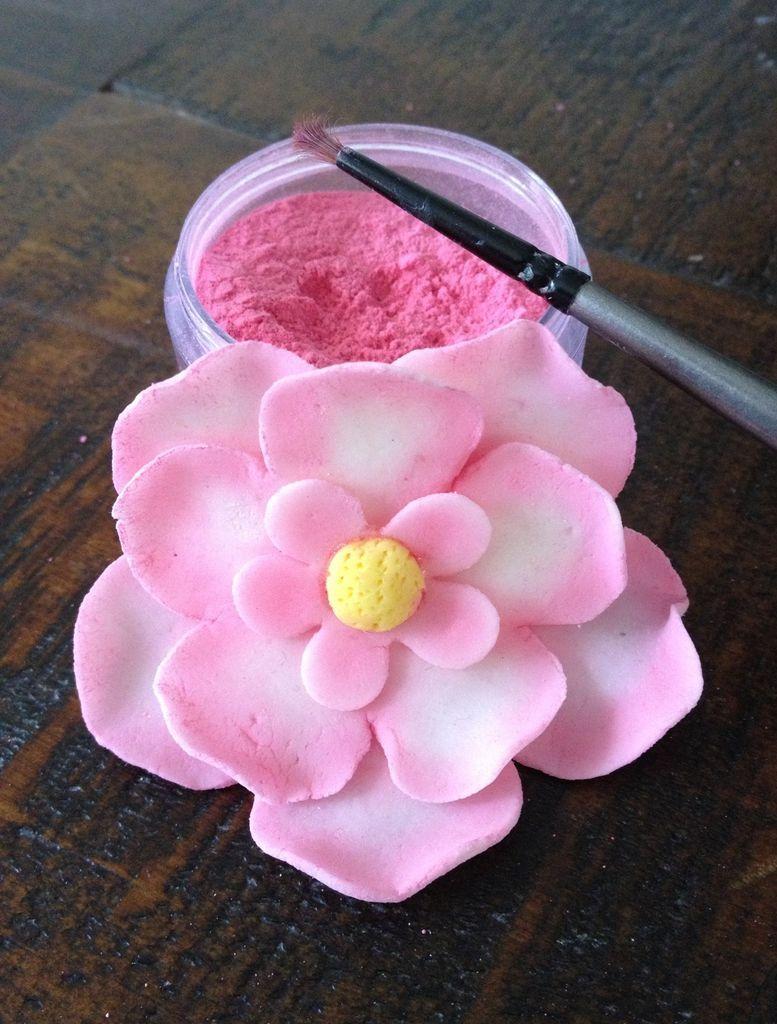 How To Make Petal Dust Cake Decorating Flowers Gum Paste Fondant Non Toxic Embellishment