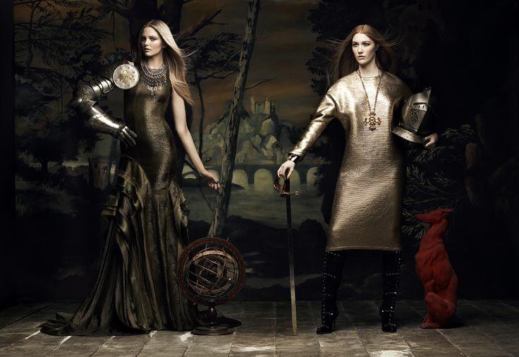 Barokk stílus, lenyűgöző fotók a Flare-ben | Fashionfave - Online divatmagazin