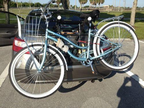 Allen Sports Deluxe 2 Bike Trunk Mount Rack Bike Rack Bike Trunks