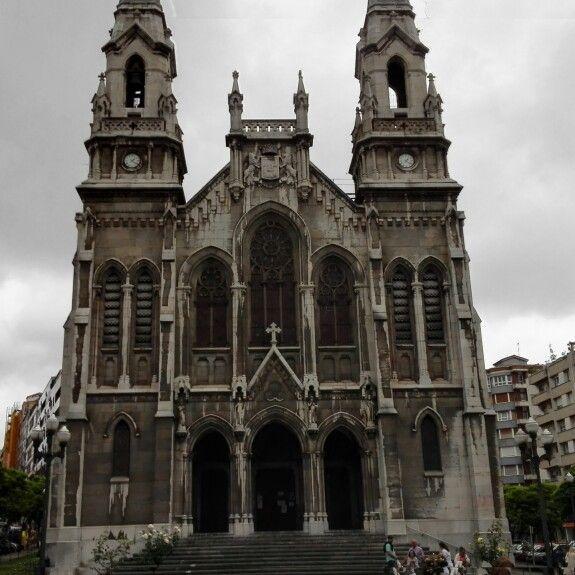 Church of Avilés (Asturies, Spain)