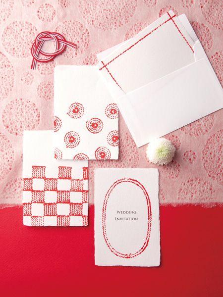 和風招待状 囍 pinterest invitations wedding and wedding