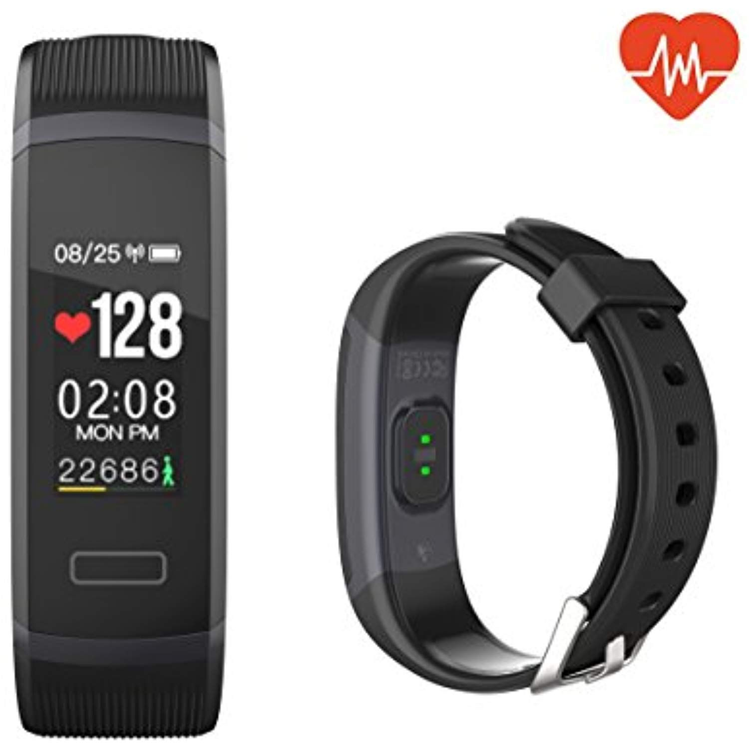 QIANXIANG Fitness Tracker,Sport Activity Tracker with