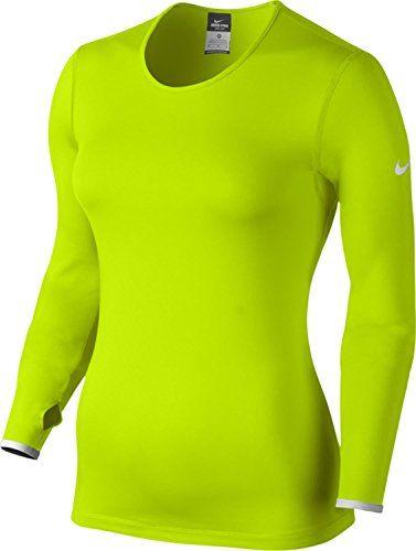 NIKE Nike Womens Dri-Fit Running Shirt Volt Size Medium. #nike #cloth #