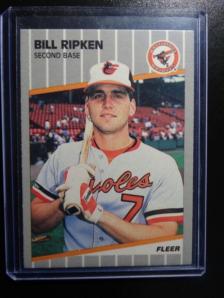 Details About Bill Ripken 1989 Fleer Black Box Error Card