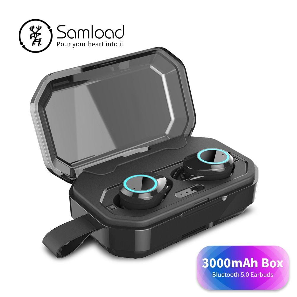 3654 samload true wireless earphone stereo games