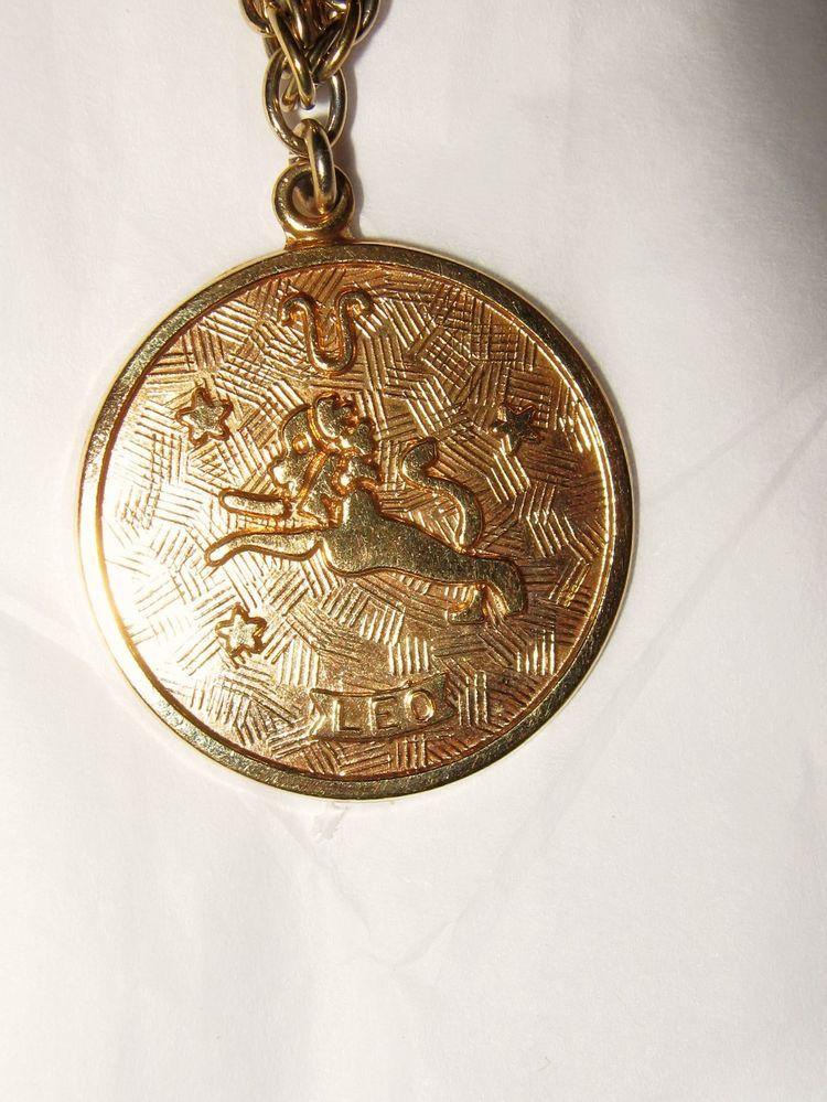 Sarah coventry leo the lion zodiac gold tone necklace sarah coventry leo the lion zodiac gold tone necklace aloadofball Images