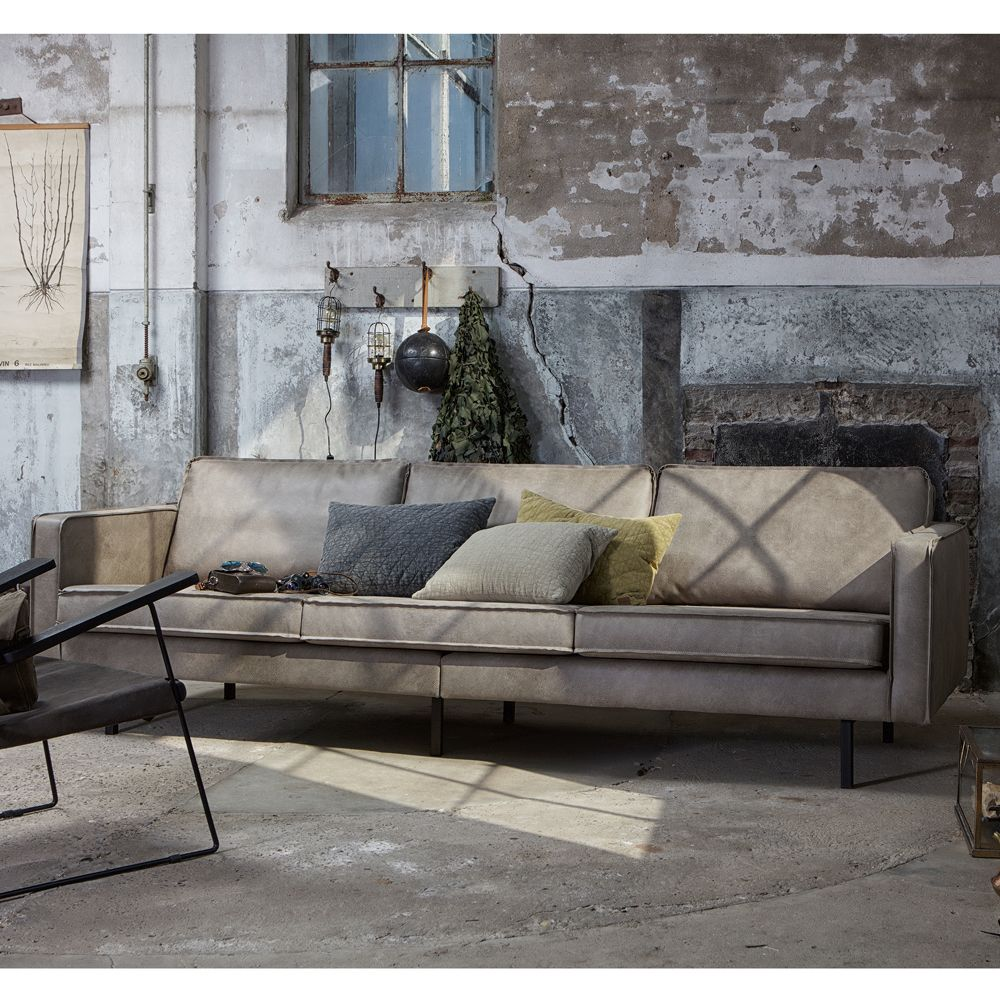 3 Sitzer Sofa Rodeo Elefantenhaut Grau Lounge Couch Loungesofa Couchgarnitur Haus 3 Sitzer Sofa Sofa