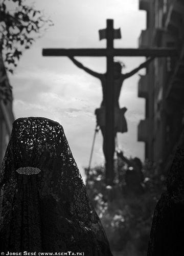 Viernes Santo 2008. Siete Palabras. Zaragoza by Jorge Sesé (ASemTa Fotografía Cofrade), via Flickr