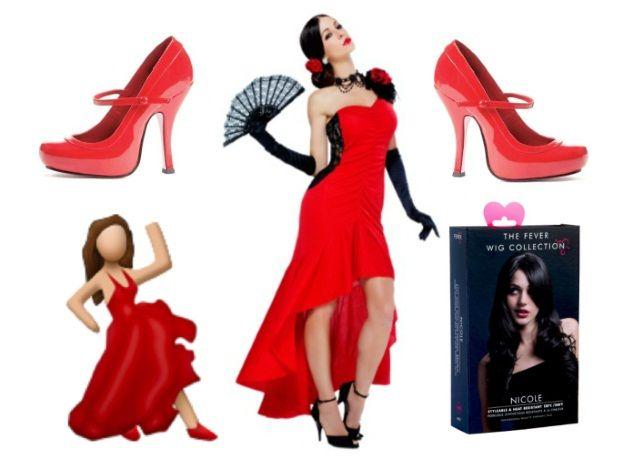 Diy Emoji Costume Ideas Halloweencostumes Com Blog Dress And Heels Emoji Costume Red Dress