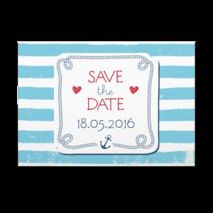 Save The Date Maritim Hochzeits Karten Pinterest