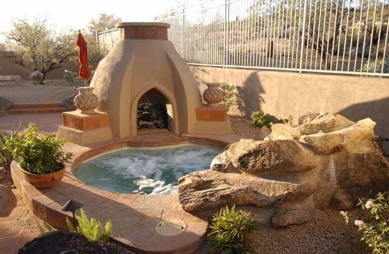 Phoenix Pool Arizona Spas And Spools California Pools And Spas Arizona Backyard Backyard Pool Designs California Pools