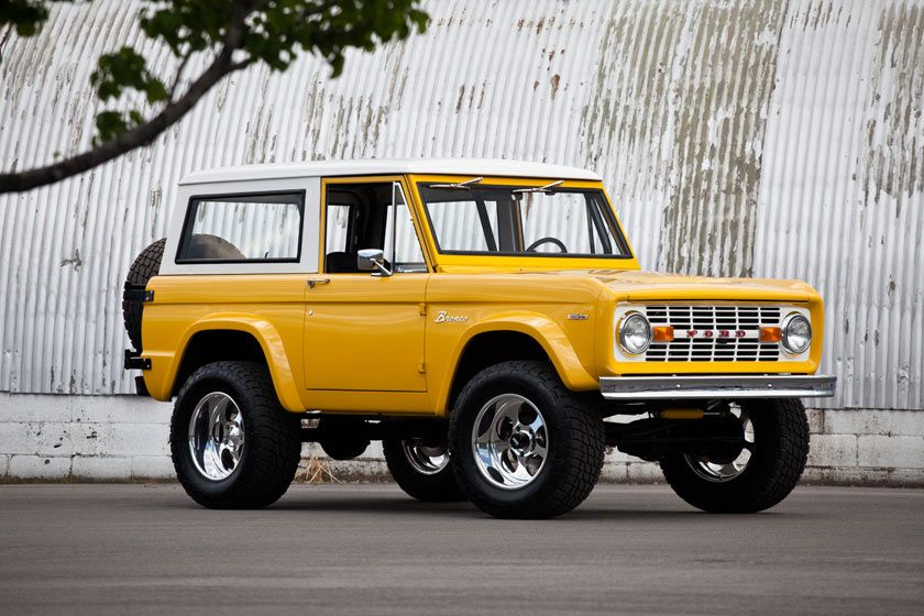 1969 Ford Bronco Kindig It Design Ford bronco, Bronco