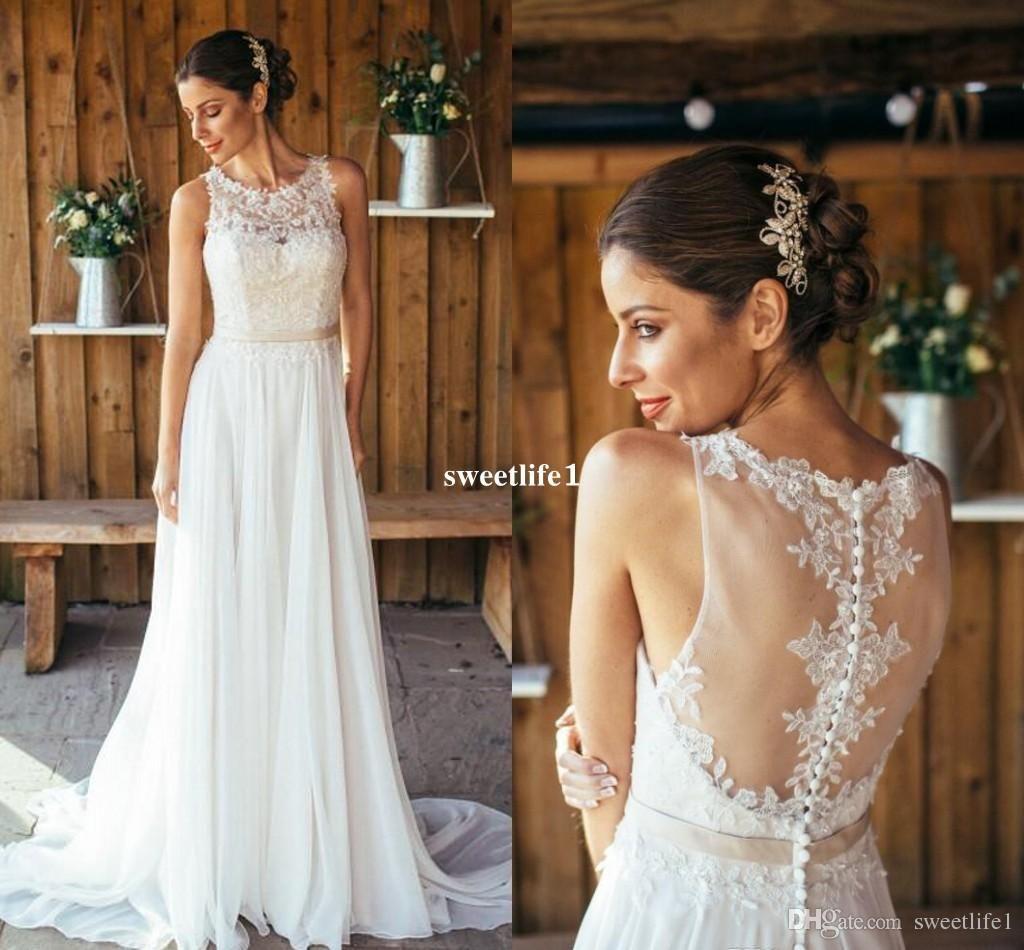 Lace wedding dress under 300  Wedding Dresses Under  Betra Empire Evening Dress  Sheer
