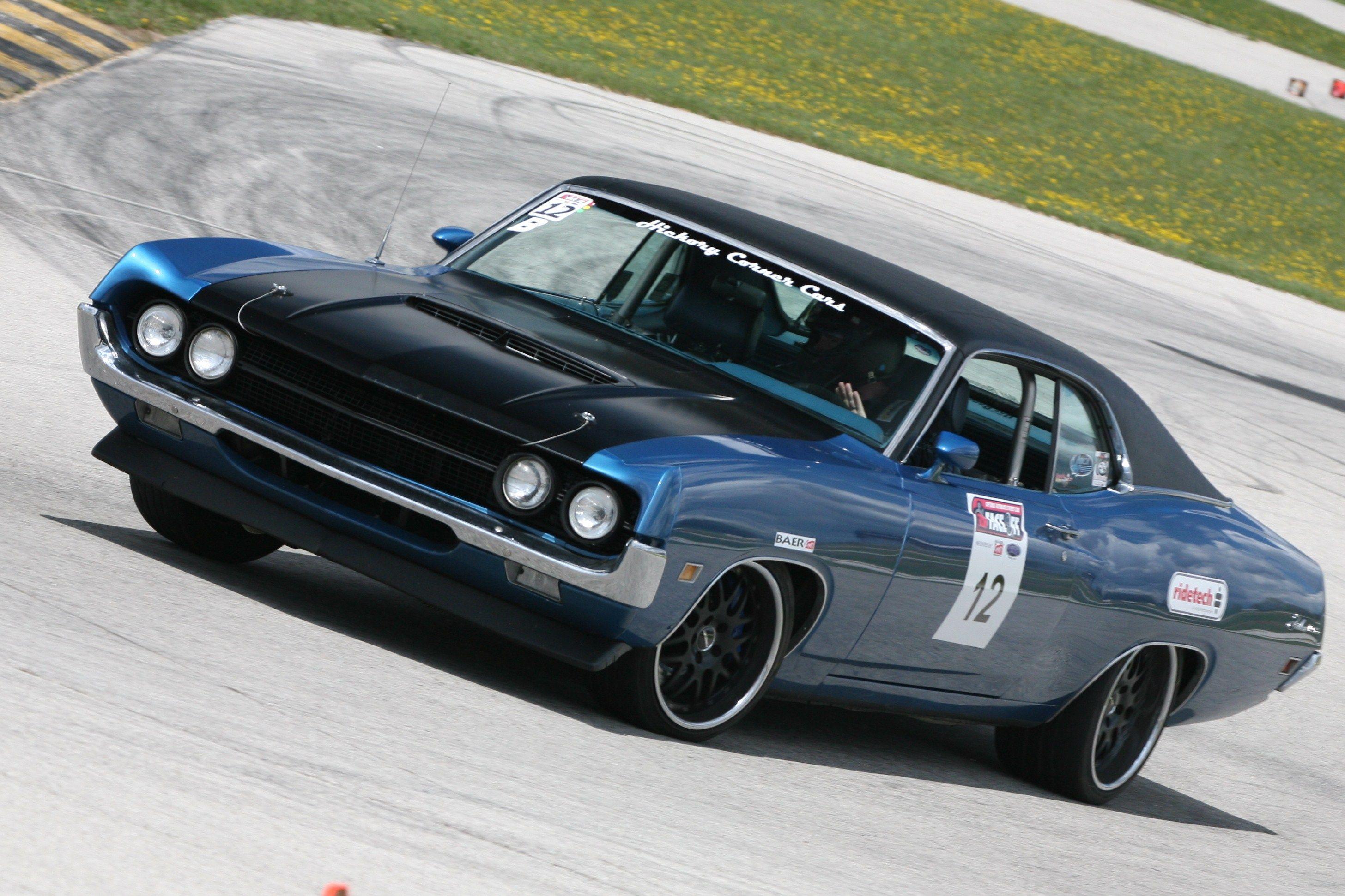 Yancy johns blue 1970 ford fairlane