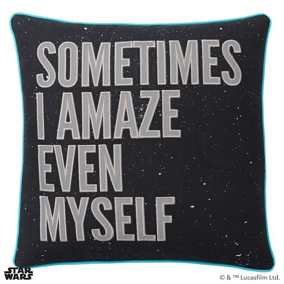 Star Wars™ Han Solo™ Quote Pillow