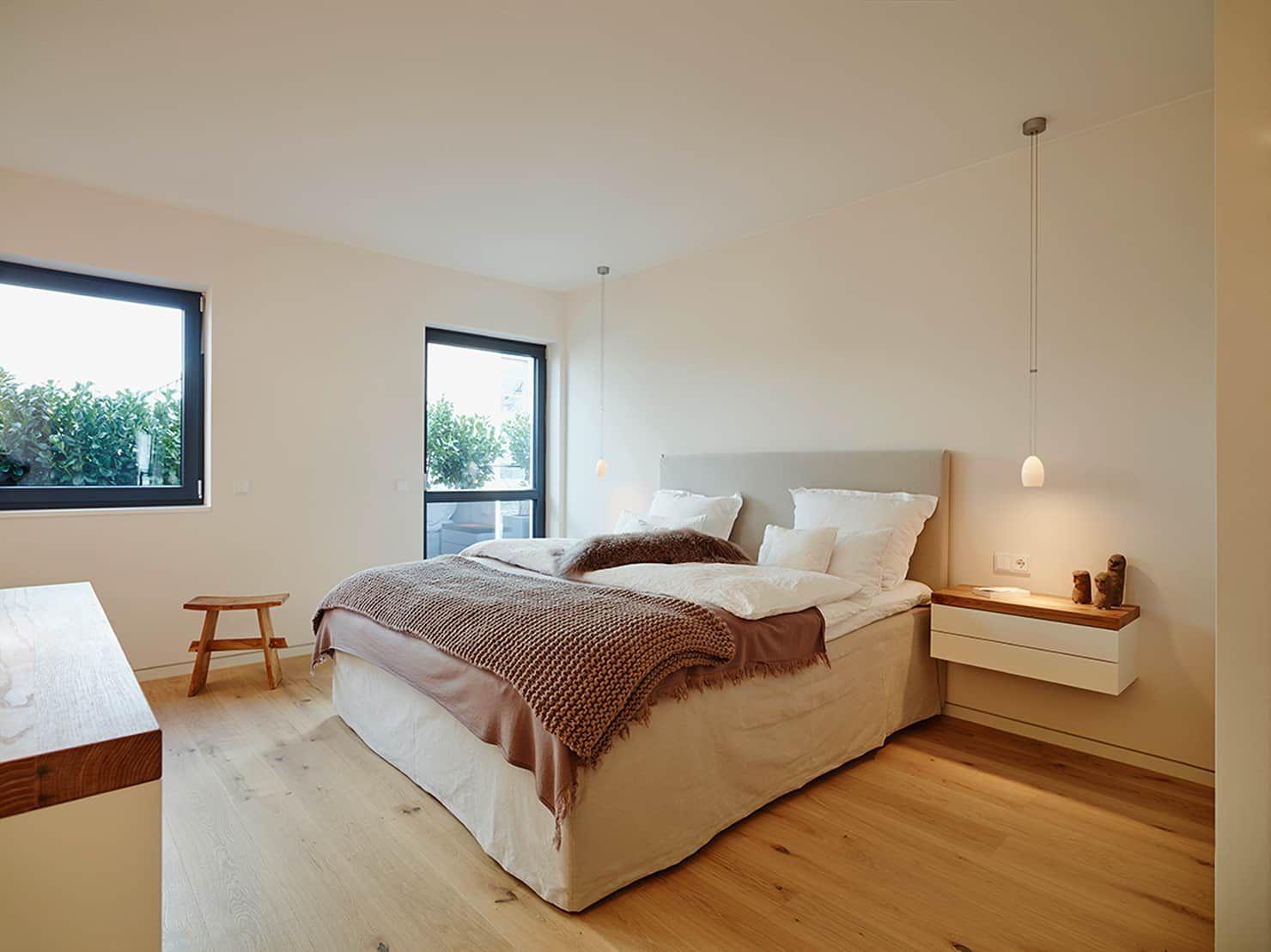 Penthouse Moderne Schlafzimmer Von Honeyandspice Innenarchitektur