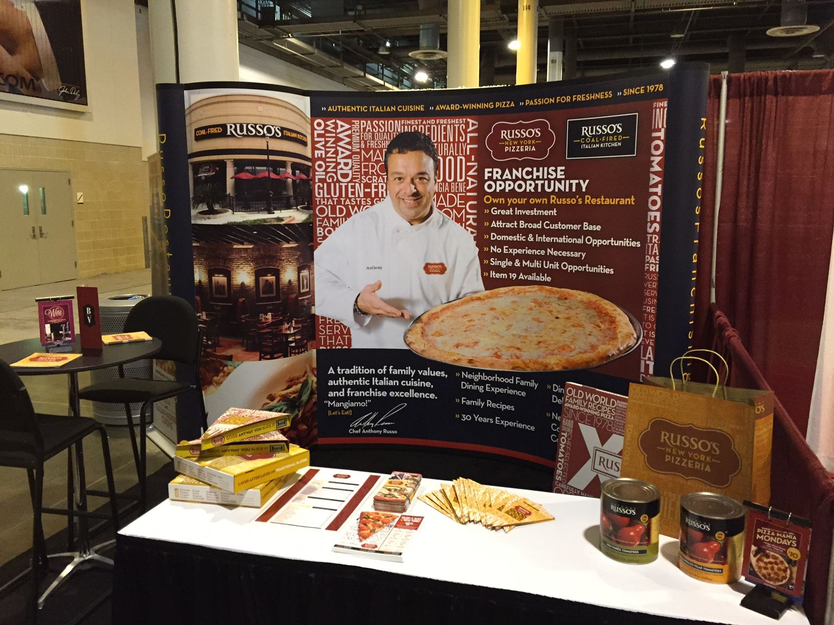 Come Check Out Our Booth At Franchise Expo South In Houston And Meet Chef Anthony Cuisine Authentic Italian Italian Cooking
