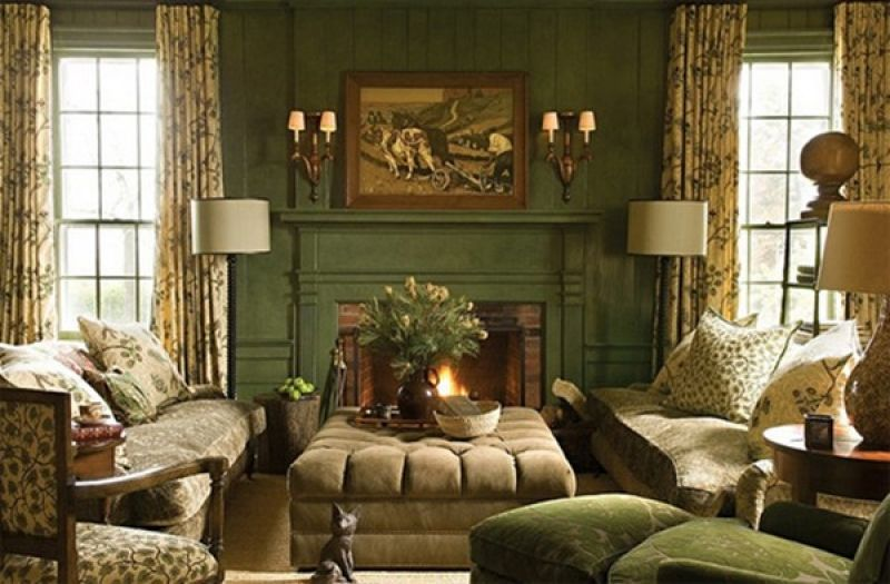 Victorian Green Living Room Google Search Country Living Room Country Living Room Design Living Room Green