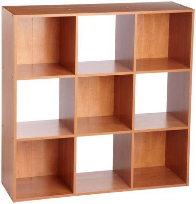 ClosetMaid 898000 9 Cube Stackable Laminate Organizer