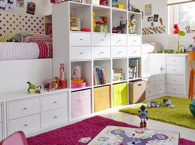 Chambre d\'enfants : nos idées en pagaille pour bien la ranger ...