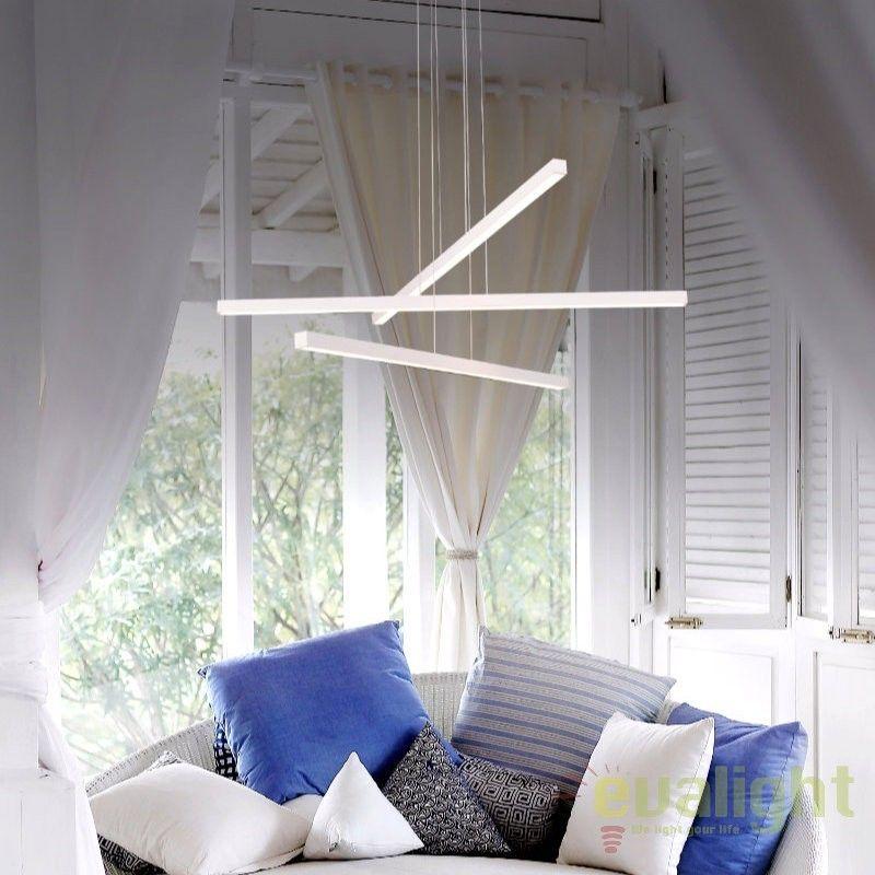 Lustra Cu 3 Pendule Eleganta Iluminat Led Anitra Led M50279