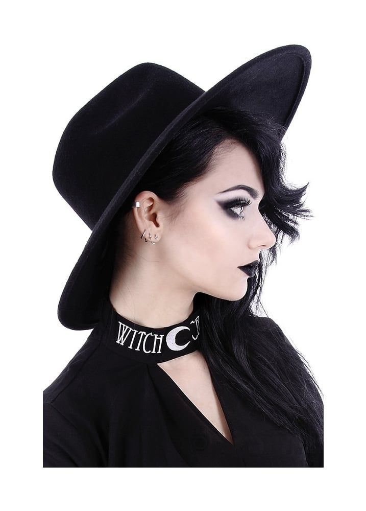 Witch Wide Brim Hat  c3b398a42066