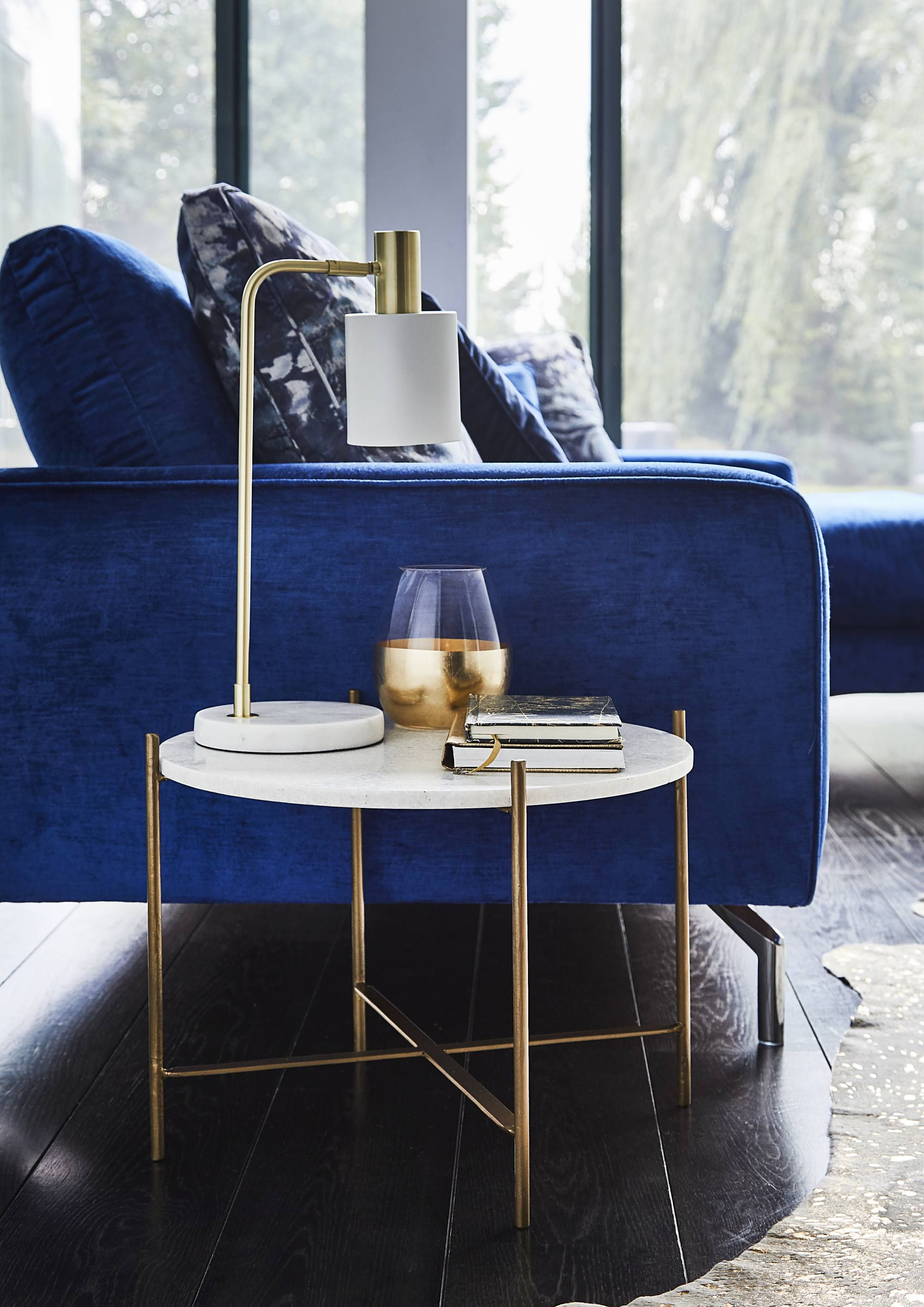 Marble And Gold Are The Perfect Combination In Our Attica