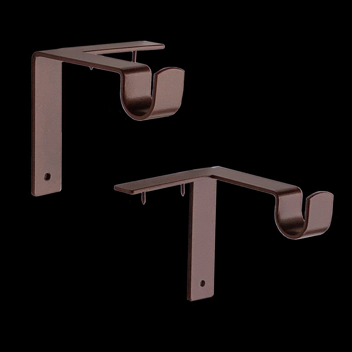 Single Curtain Rod Brackets Hanging Curtains Curtain Rods