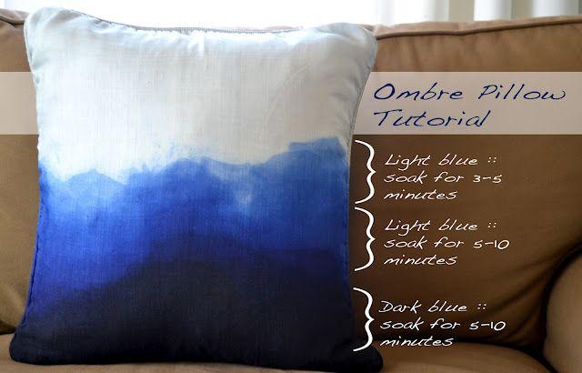 DIY Ombre Pillow
