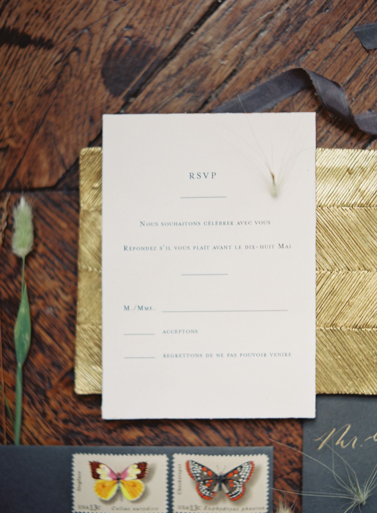 reply to wedding invitation m%0A Calligraphy and Design by  Written Word Calligraphy    Kurt Boomer  Photography    Minimalist