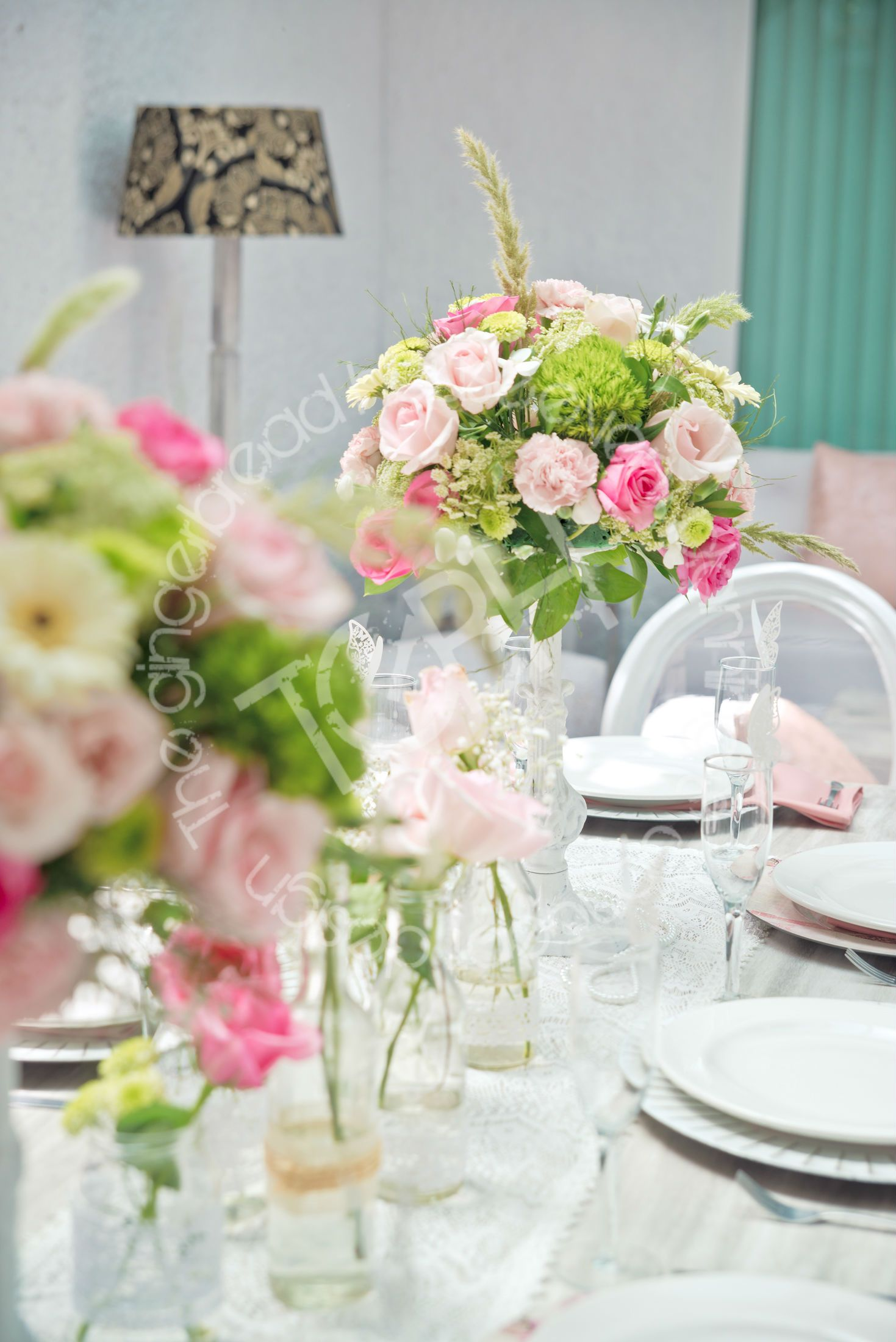 Shabby chic birthday party shabby chic tablescape flower shabby chic birthday party shabby chic tablescape flower centerpiece dhlflorist Image collections
