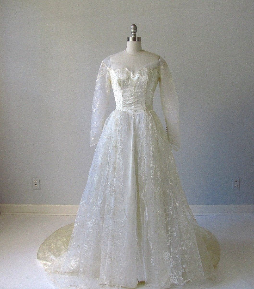 1950s lace dress  vintage us wedding dress only   my cute diary  Pinterest