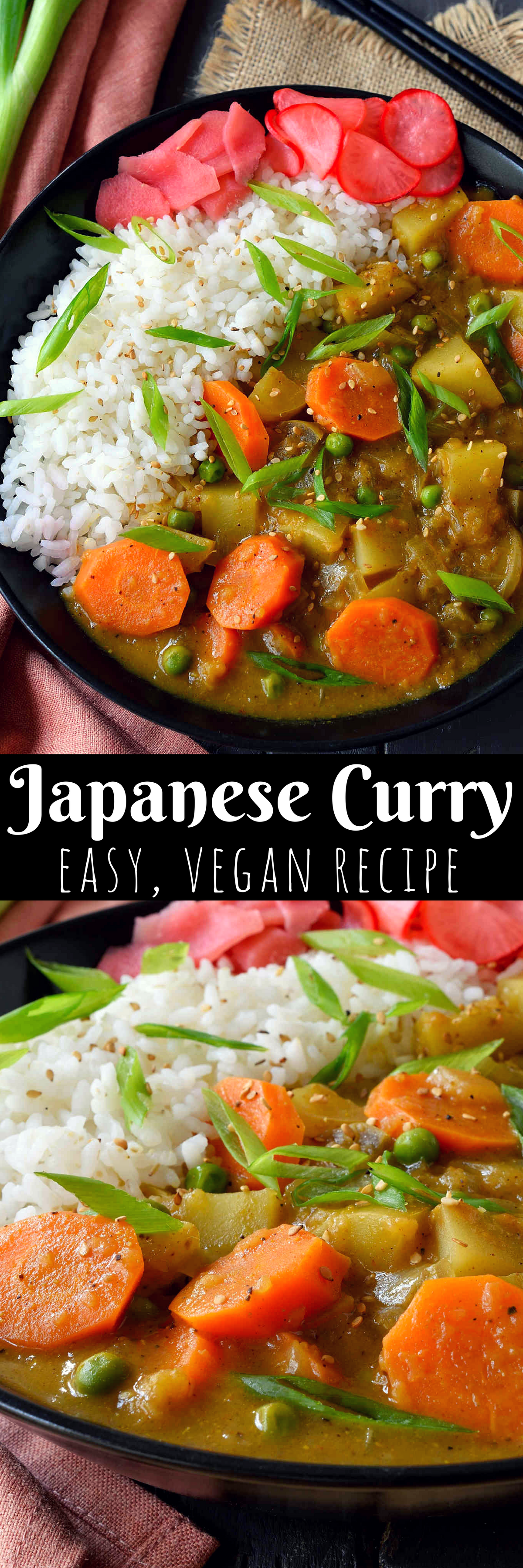 Vegan Japanese Curry Recipe Vegan Japanese Japanese Curry Curry Recipes