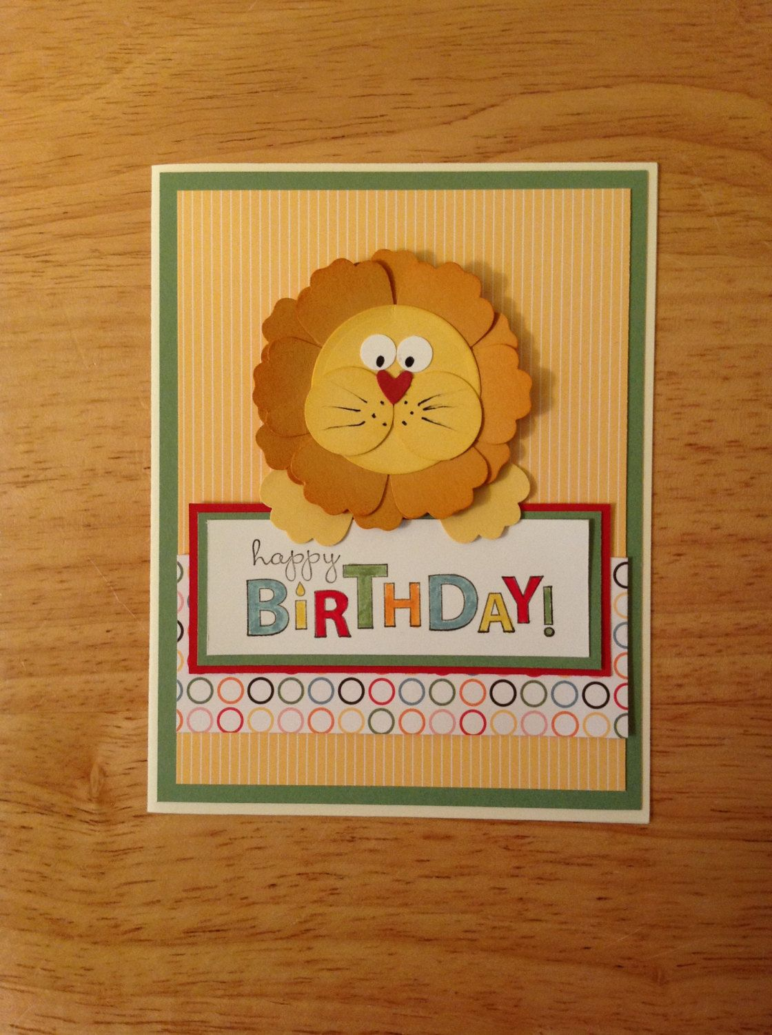 Stampin Up Cards Birthday Children