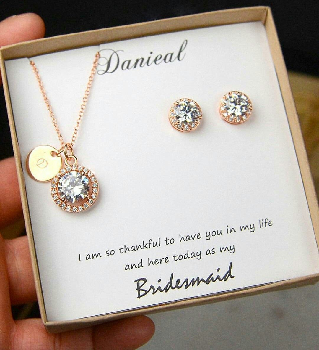 Gifts Bridesmaids Beautifully Pinterest Gift Wedding and