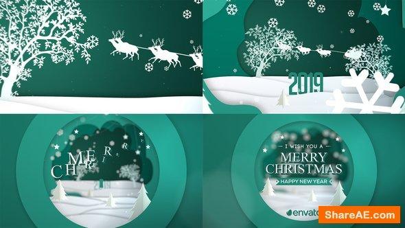 Videohive Merry Christmas Greeting Card Merry Christmas Card Greetings Christmas Greetings Colored Christmas Lights
