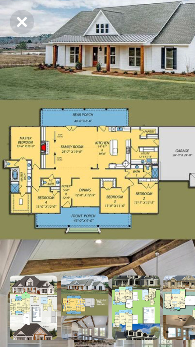 40+ Farmhouse barndominium floor plans most popular