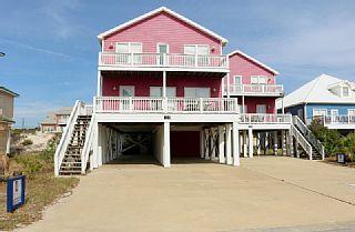 5 Bedroom 3 Bath 1 Half Bath Per Side Homeaway Alabama Gulf Coast Vacation Rental Beach House Gulf Shores Condos