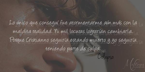 """Colapso"", Alessandra Neymar   Cielo púrpura, Libros y"