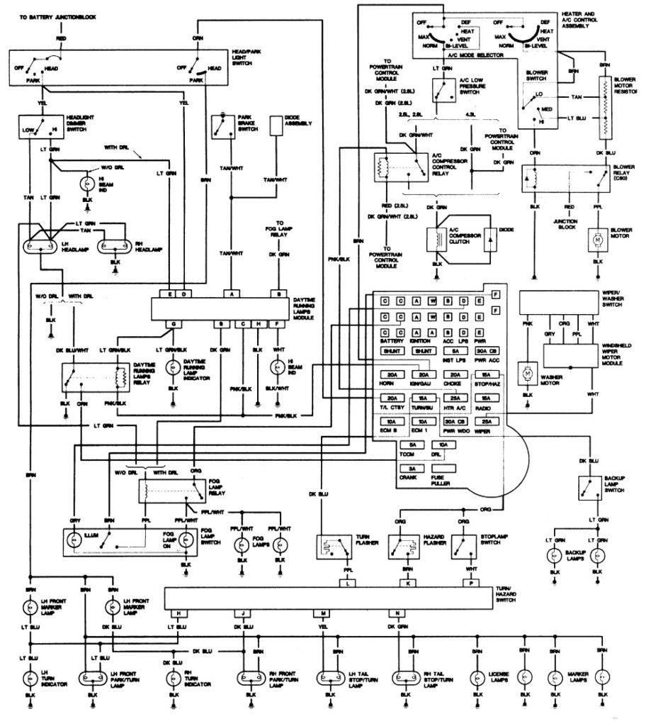 Inspirational 1993 Chevy S10 Wiring Diagram Chevy 1500 Chevy Trucks Chevy S10