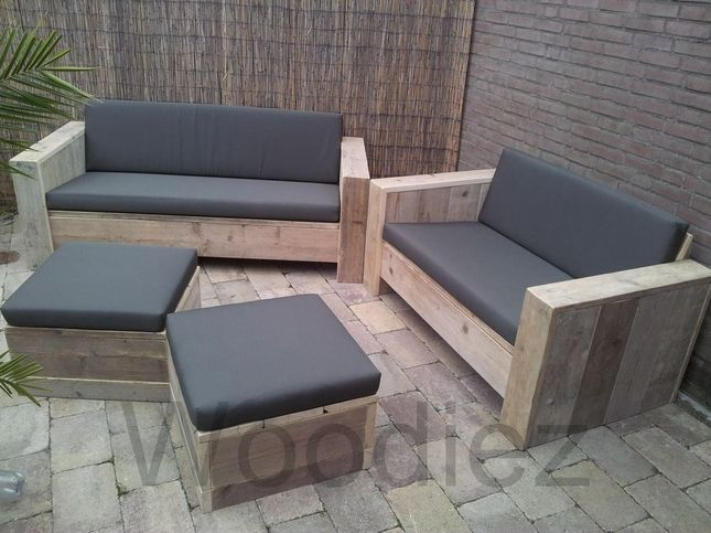 Woodiez bergeijk voor al uw perfect afgewerkte steigerhouten loungemeubelen en ook voor uw - Bank terras hout ...