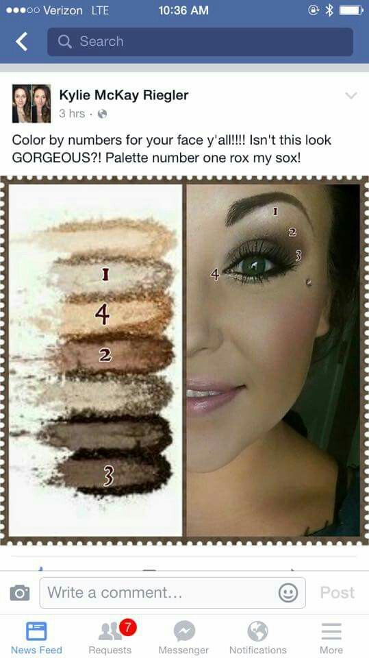 Younique Palette 1 What A Great Look With One Of Our New Palette S